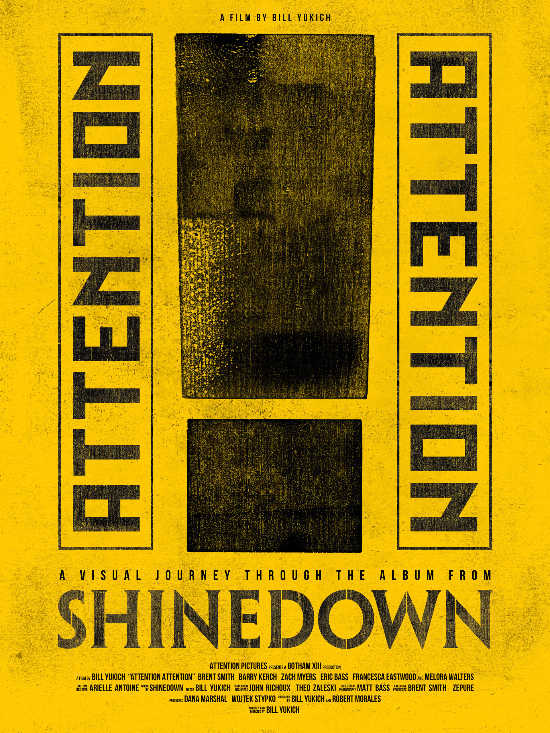 attention attention shinedown poster