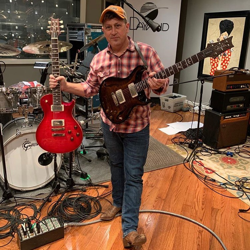 Dave Cleveland in Studio