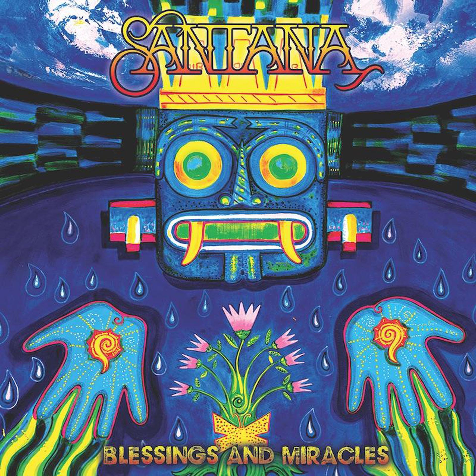 Carlos Santana album artwork blessings and miracles