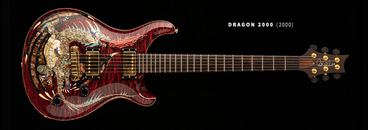 PRS Dragon II Bass Gold Covered