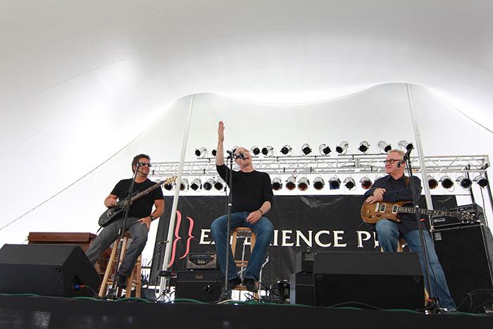 Brent Mason, Paul Reed Smith and Tim Pierce