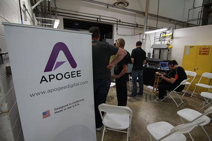 Apogee Digital recording studio