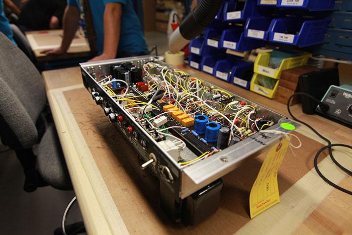 PRS Amplifier Innards