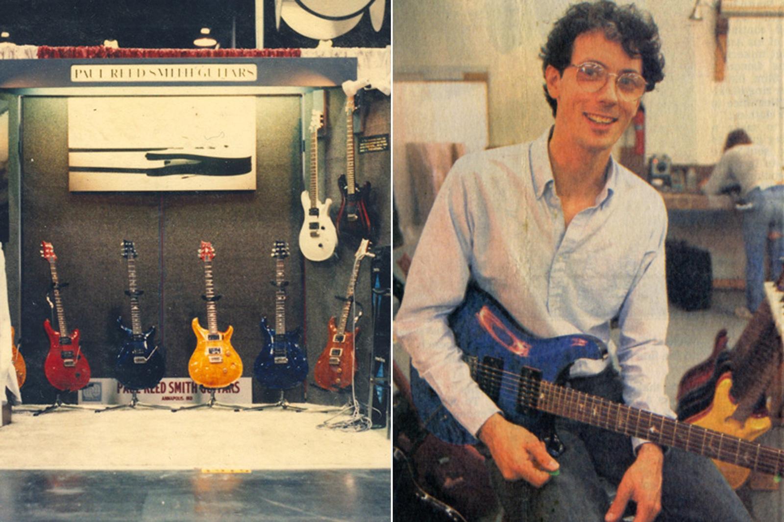Paul Reed Smith at NAMM 1985