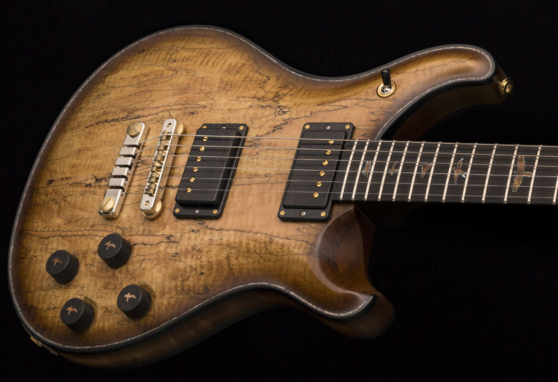 Moore Music Spalted Maple McCarty 594
